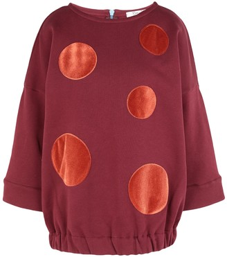 Rose' A Pois Sweatshirts