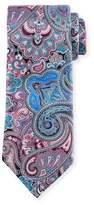 Ermenegildo Zegna Quindici Paisley Tie, Black