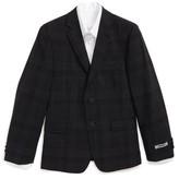 DKNY Boy's Neat Plaid Sport Coat