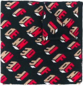 Fendi FF pattern scarf