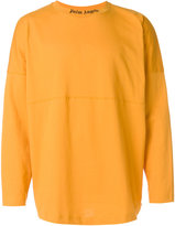 Palm Angels logo collar T-shirt - men - Cotton - S