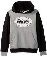 Volcom Patch Stone Pullover Hoodie (Big Kids)
