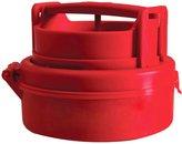 SODIAL(R) Stuffed Hamburger Burger Press Mould Plastic Novelty Compact Kitchen Tool Red