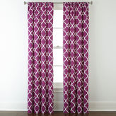 JCPenney Home ExpressionsTM Thermal Trellis Rod-Pocket Curtain Panel