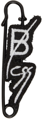 Bless Black Logo Pin