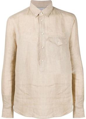 Brunello Cucinelli Front Pocket Crease Effect Shirt
