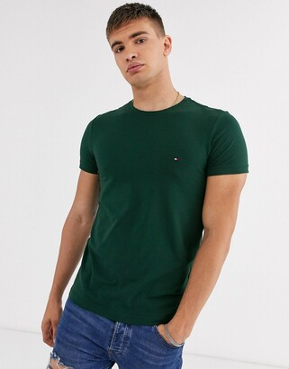 Tommy Hilfiger stretch slim fit tee in green