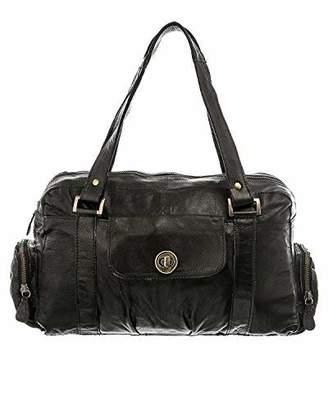 Pieces Pctotally Royal Leather Small Bag Noos, Women's Shoulder Bag,12x20x32 cm (B x H T)