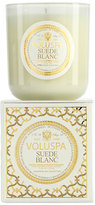 Voluspa 'Maison Blanc - Suede Blanc' Boxed Candle