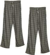 Godsen Men's Lounge Pants 2 Pack Pajama Bottoms Jogging Trousers (S, )