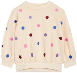 Arket Embroidered Sweatshirt