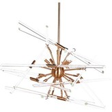 Aidan Gray Solitude 8-Light Sputnik Sphere Chandelier Finish: Brass