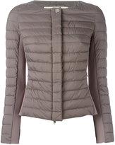 Herno collarless padded jacket - women - Polyamide/Polyester/Polyurethane - 38