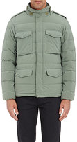 Aspesi MEN'S DOWN QUILTED JACKET-GREEN SIZE L