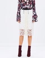 Romance Was Born Full Moon Crystal Lace Skirt