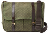 Louis Vuitton Vintage Green Mini Lin Sac Maman