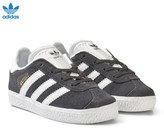 adidas Black and White Gazelle Infant Trainers
