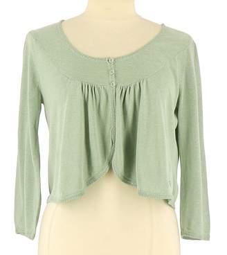 Des Petits Hauts Turquoise Silk Knitwear for Women