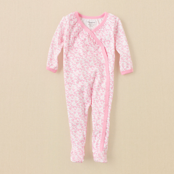Children's Place Burt's Bees Baby bee maze coverall