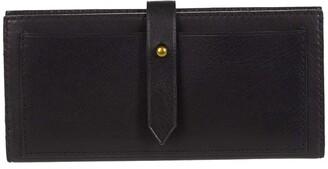 Madewell Post Wallet (True Black) Handbags