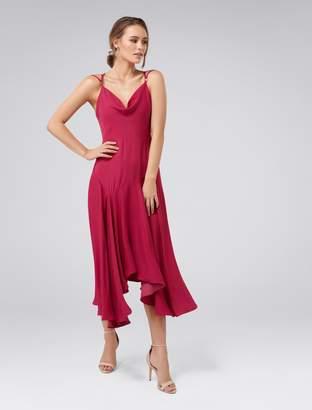 Forever New Sidney Cowl Slip Dress - Fuchsia - 8