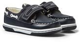 Geox Navy Infants Flick Boat Shoes