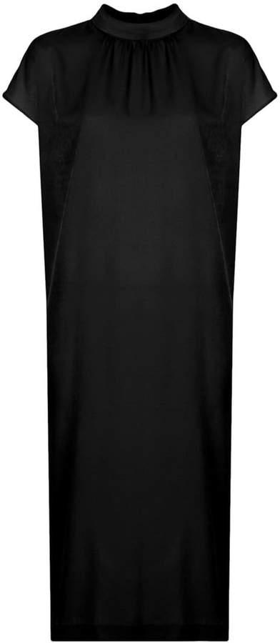G.V.G.V. funnel neck short sleeved dress