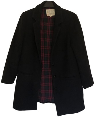 Madewell Black Wool Coat for Women
