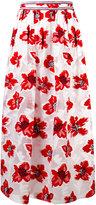 Tory Burch floral print empire skirt - women - Polyester/Viscose - 8