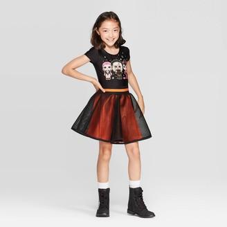 Girls' L.O.L. Surprise! Halloween 2pc Bodysuit & Skirt -