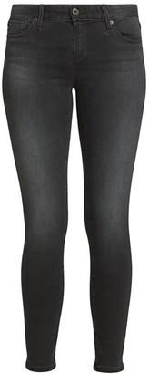 AG Jeans Mid-Rise Legging Ankle Skinny Jeans