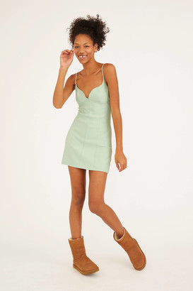 Urban Outfitters Ari Plunging Bustier Mini Dress