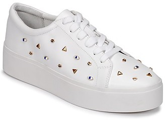 Katy Perry THE DYLAN women's Shoes (Trainers) in White