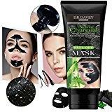Hhusali Blackhead Remover Mask Bamboo Charcoal Black Facial Clean Peel-off Mask (120g)