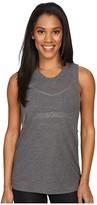 Alo Heat-Wave Tank Top (Black) Women's Sleeveless