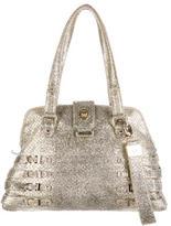 Jimmy Choo Metallic Blythe Bag