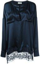 Faith Connexion oversized shirt - women - Silk/Cotton/Polyamide - S