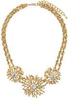 Susan Caplan Vintage 1990s Kenneth Jay Lane Starburst necklace