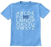 Urban Smalls Boys' Tee Shirts Heather - Heather Bright Blue 'Hi' Alphabet Tee - Toddler & Boys