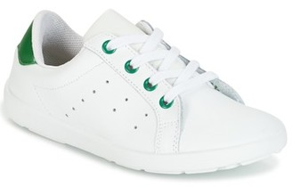 Citrouille et Compagnie HALOU girls's Shoes (Trainers) in White