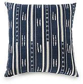 Daniel Cremieux Striped Slub Cotton Oversized Square Pillow