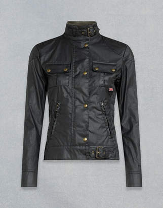 Belstaff Gangster Waxed Jacket Black UK 4 /