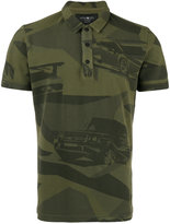 Hydrogen camouflage print polo shirt