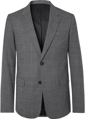 Ami Grey Tweed Suit Jacket