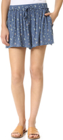 Splendid Primrose Ditsy Shorts