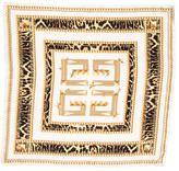 Givenchy Silk Leopard Print Scarf