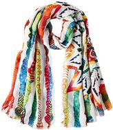 Desigual Women's Soft New Marine Scarf