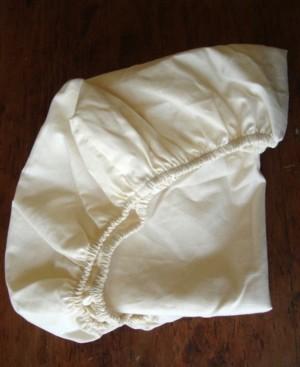 Holy Lamb Organics Organic Cotton Sateen Bassinet Fitted Sheet Bedding