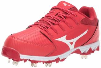Mizuno Women's 9-Spike Swift 6 Low Metal Cleat Softball Shoe
