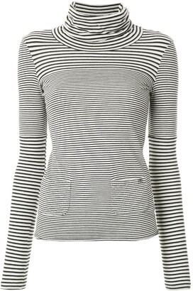 Chanel Pre Owned 2005 striped CC T-shirt